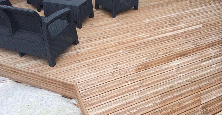réalisation terrasse bois 44